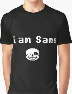 I am Sans ( back ) Graphic T-Shirt