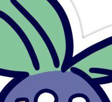 Sad Hurt Oddish Sticker