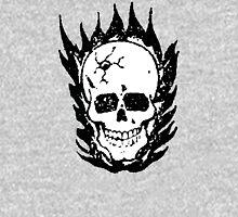 Cracked and Blazing Skull T-Shirt