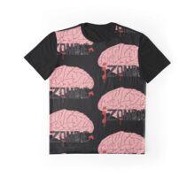 IZombie Brain Graphic T-Shirt