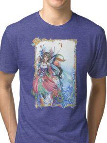 Masquerade Mermaid Fairy Tri-blend T-Shirt