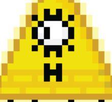 Bill Cipher (8-bit) Sticker