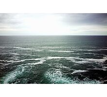 Endless Breathing Ocean Photographic Print