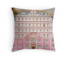 The Grand Budapest Hotel - Wes Anderson Film Throw Pillow