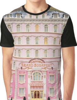 The Grand Budapest Hotel - Wes Anderson Film Graphic T-Shirt