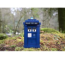 Travel's With The Tardis Photographic Print