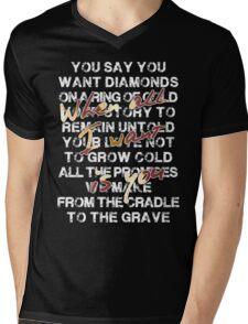 u2 all I want is you Mens V-Neck T-Shirt
