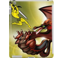 Fight with the Dragon iPad Case/Skin