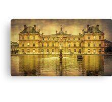Luxembourg Palace Paris Canvas Print