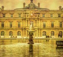 Luxembourg Palace Paris Sticker