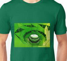 Green Spiral Building Unisex T-Shirt