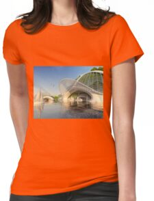 Sealab Undersea Hotel Base Womens Fitted T-Shirt