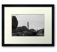 Wellington Monument, Dublin Framed Print