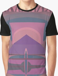 Ediemagic Quilted Time Traveller Graphic T-Shirt