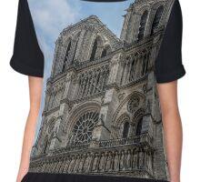 Notre Dame Paris Chiffon Top