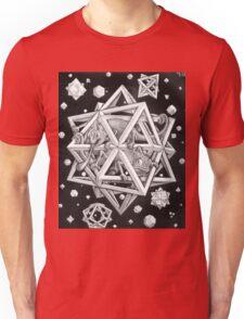 MC Escher Halftone Unisex T-Shirt