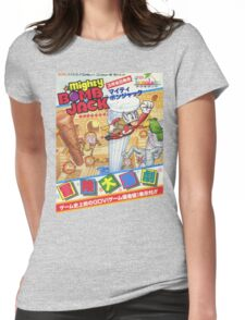 Mighty Bomb Jack Womens Fitted T-Shirt
