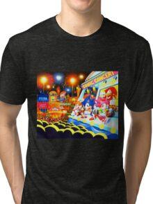 Sonic the Hedgehog live in concert! Tri-blend T-Shirt