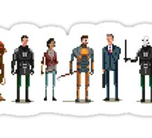 Half Life 2 Pixel Sticker