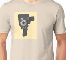 Old fashioned video camera Unisex T-Shirt
