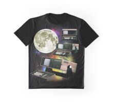 Computers in Space (Vintage Geek) Graphic T-Shirt