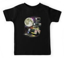 Computers in Space (Vintage Geek) Kids Tee