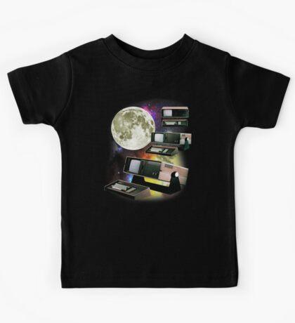 Computers in Space (Vintage Geek) Kids Tee