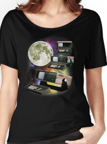 Computers in Space (Vintage Geek) Women's Relaxed Fit T-Shirt