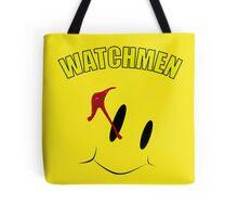 Watch Comedian pin Tote Bag
