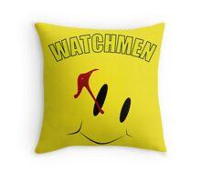 Watch Comedian pin Throw Pillow