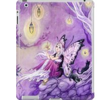 Chasing Butterflies gothic butterfly fairy art tote iPad Case/Skin