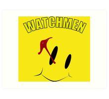Watch Comedian pin Art Print