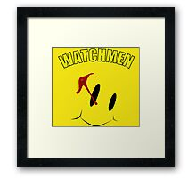 Watch Comedian pin Framed Print