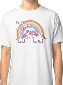 Cute Unicorn Mom Classic T-Shirt