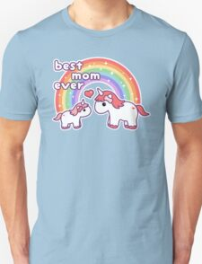 Cute Unicorn Mom Unisex T-Shirt