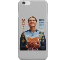 Nadal's Ninth iPhone Case/Skin