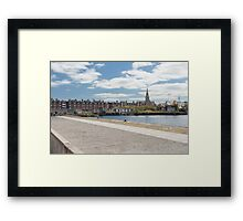 Grand canal dock, Ringsend Framed Print