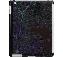 USGS TOPO Map Rhode Island RI East Greenwich 20120604 TM Inverted iPad Case/Skin