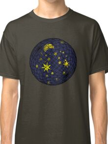 Celestial sphere with moon and stars Classic T-Shirt