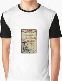 Shady Lady Saloon Graphic T-Shirt