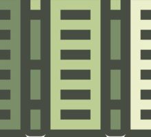 Acorn Rocket Bots Green Sticker