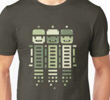 Acorn Rocket Bots Green Unisex T-Shirt