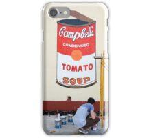 Imitating Warhol in Cienfuegos, Cuba iPhone Case/Skin