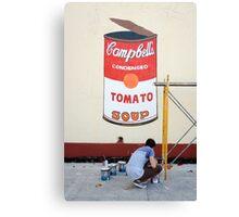Imitating Warhol in Cienfuegos, Cuba Canvas Print