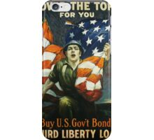 """""""Over the Top for You"""" iPhone Case/Skin"""
