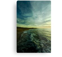 where water and sky meet Metal Print