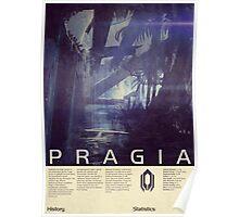 Mass Effect - Pragia Vintage Poster Poster