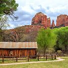 Cabin At Cathedral Rock by James Eddy