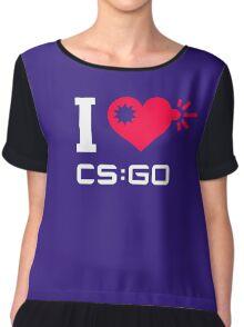 I <3 CSGO Chiffon Top