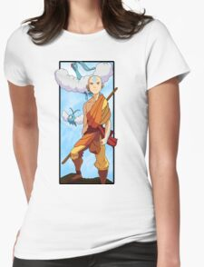 Aang and Altaria - Pokemon and Airbender Womens T-Shirt